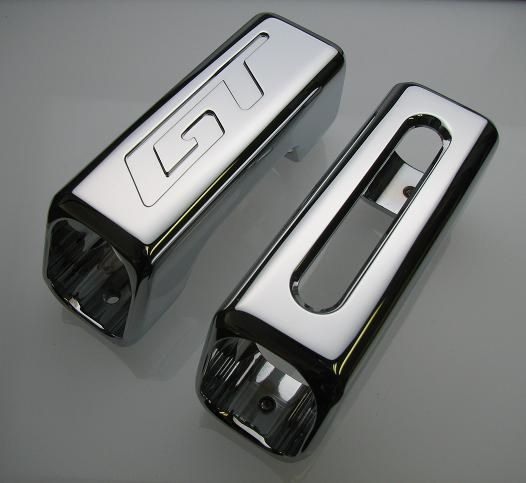 05-09 Mustang Billet E-Brake Handle - Chrome