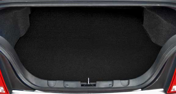 2008-2009 SHELBY GT500 Coupe & Convertible TRUNK Mats - Black (2 Emblem Options)