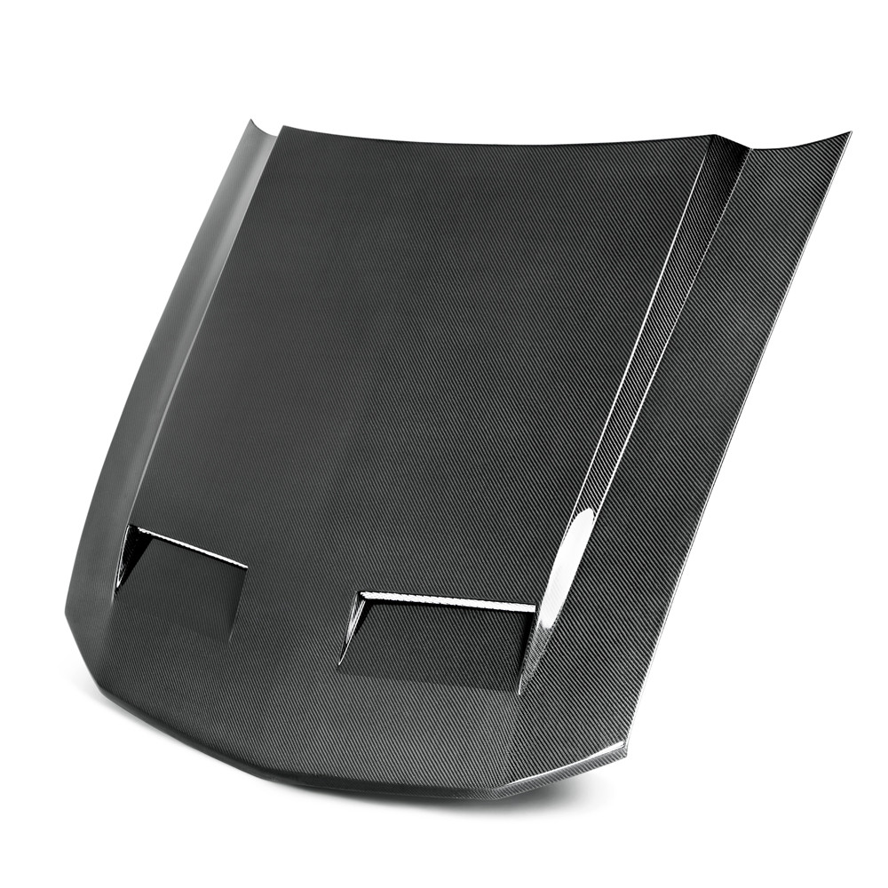 05-09 Mustang TYPE CD Hood (Fits all models) (CARBON FIBER)
