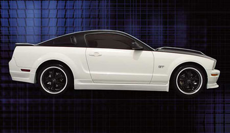 05-09 Mustang RAZZI COLT - 4pc - Body kit for V6 (Front + Rear + Sides) ABS AERO-FLEX