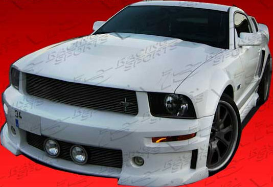 05-09 Mustang VIS CVX ELEANOR Gen 2 - (8PC) - Body kit (Front + Rear + Sides + Up/Low Scoops) - Fiberglass