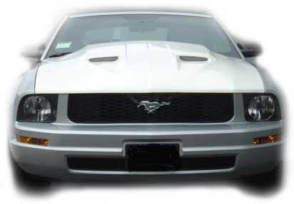 05 09 Mustang MACH 1 Hood TF Fiberglass TF A29