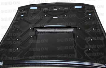 05-09 Mustang TYPE SC Hood (Fits all models) CARBON FIBER