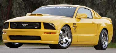 05-09 Mustang XENON AGGRESSIVE - (8 PC) - (Front + Rear + Sides + Lower C Scoops) - Urethane