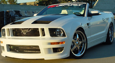 05-09 Mustang RK CALIFORNIA DREAM - GT Front Bumper - FREE Lower Mesh Insert(Urethane)