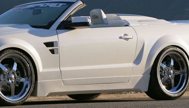 05-09 Mustang RK CALIFORNIA DREAM - Side Skirts Kit (2pc)- Passenger / Driver Side (Urethane)