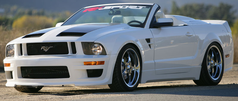 05-09 Mustang RK CALIFORNIA DREAM - Side Skirts Kit (4pc)- Passenger / Driver Side (Urethane)