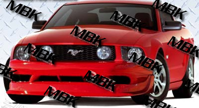 05-09 Mustang COBRA R - GT - 4PC Body kit (Front + Rear + Sides) - Urethane