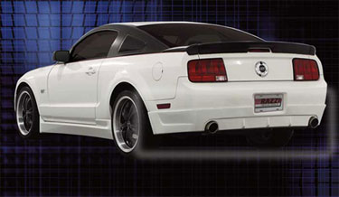 05-09 Mustang RAZZI COLT - GT / V6 Add-on Rear Valance - (ABS AERO-FLEX)