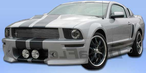 05-09 Mustang ELEANOR Gen 1 - (8PC) - Body kit Fiberglass (Front + Rear + Sides + Urethane Up/Low Scoops)