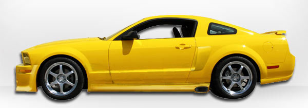 05-09 Mustang ELEANOR Gen 1 - (8PC) - Body kit (Front + Rear + Sides + Up/Low Scoops) - Urethane
