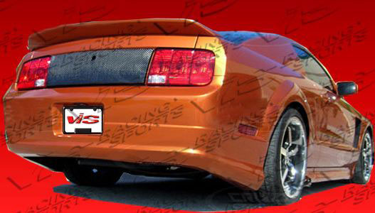 05-09 Mustang ELEANOR Gen 1 - Rear Exhaust Delete Add-on Lip - (Fiberglass)