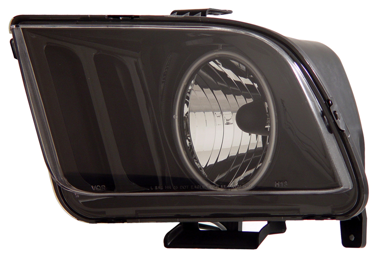 05-09 Mustang Headlights GEN 3 with HALO (CCFL)- BLACK (Pair)