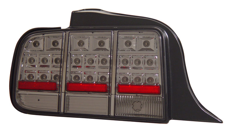 05-09 Mustang Taillights Gen 3 - LED Smoked (Pair)