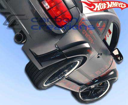 2005-2009 Ford Mustang Carbon Creations Hot Wheels Wide Body Body Kit - 9 Piece GT/V6 (CARBON FIBER)