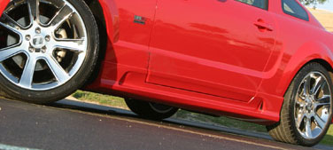 05-09 Mustang KBD SLN - Side Skirts & Side Door Fill Caps - Passenger / Driver Side - (Urethane)