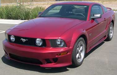05-09 Mustang KDB SLN - (4PC) - Body kit (Front + Rear + Sides) - Urethane