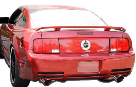 05-09 Mustang KBD BULLET SLN - Rear Replacement Bumper - (Urethane) FREE SHIPPING