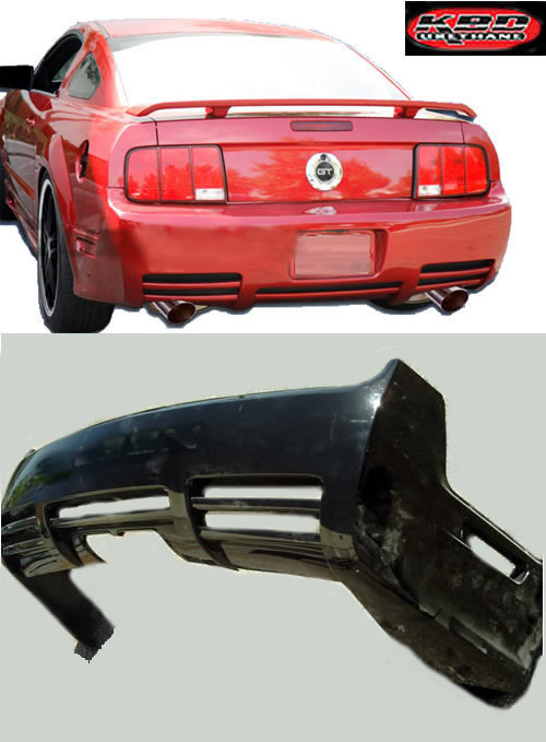 05-09 Mustang KBD SLN - Rear Replacement Bumper - (Urethane)
