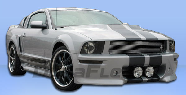 05-09 Mustang ELEANOR Gen 1 - Side Skirts - Passenger / Driver Side - (Fiberglass)
