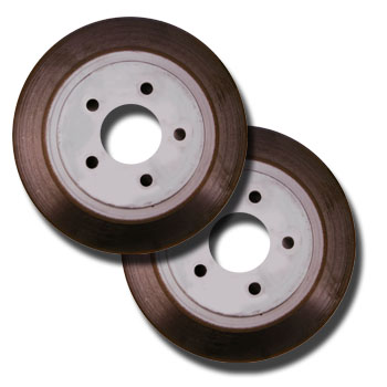 2005-2009 Mustang GT OEM Take off Rear Brake Rotors (Pair)
