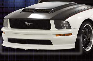 05-09 Mustang RAZZI COLT - V6 Add-on Front Valance - (ABS AERO-FLEX)