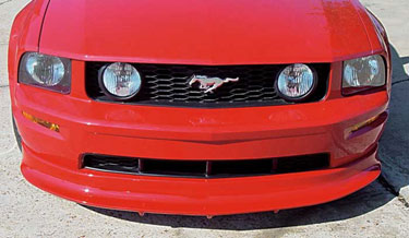 05-09 Mustang RAZZI GT - Add-on Front Valance - (ABS AERO-FLEX)