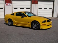 05-09 Mustang RAZZI V6 - Add-on Front Valance - (ABS AERO-FLEX)