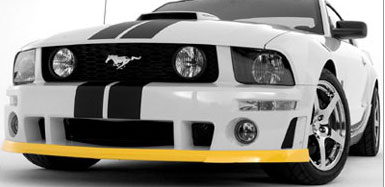 05-09 Mustang ROUSH - Front Chin Spoiler for Roush Front ONLY (TPO Plastic)