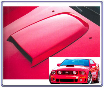 05-09 Mustang Roush Hood Scoop (PAINT OPTIONS)
