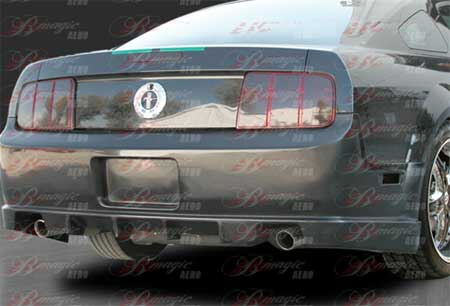 05-09 Mustang STALLION 2 - Rear Replacement Bumper - (Fiberglass)
