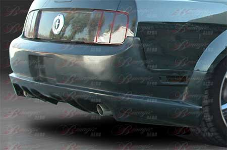 05-09 Mustang STALLION 3 - Rear Replacement Bumper - (Fiberglass)