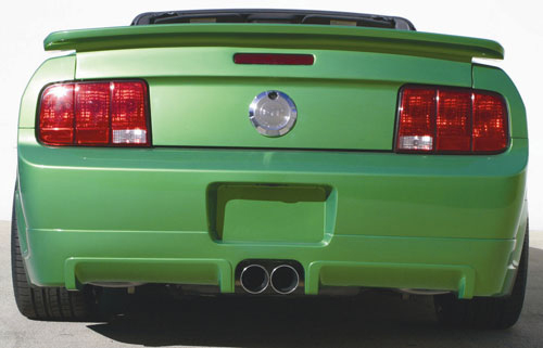 05-09 Mustang STREET SCENE GEN 2 GT - Add-on Rear Valance - (Urethane)