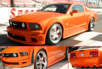 05-09 Mustang STREET SCENE GT - (4PC) - Body kit (Front + Rear + Sides) Urethane