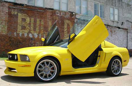 2005-2010 Mustang VERTICAL DOOR KIT system (Direct Bolt on)
