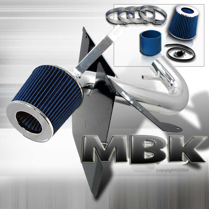 05-09 Mustang 4.0L V6 - MBK POLISHED Intake Kit