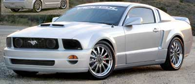 05-09 Mustang XENON - (7 PC) - Body kit with Wing- (Urethane)