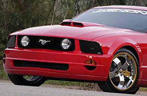 05-09 Mustang XENON - (9 PC) - Body kit (Front + Rear + Sides + Lower Scoops & Wing) - Urethane