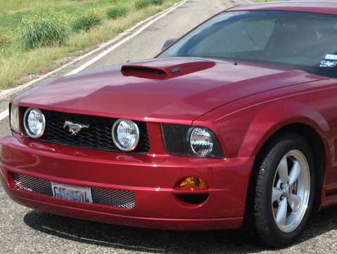 05-09 Mustang XENON - (8 PC) - Body kit (Front + Rear + Sides + Lower Scoops) - Urethane