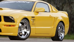 05-09 Mustang XENON - Side Skirts (4 PC) - Passenger / Driver Side - V6 & GT (Urethane)