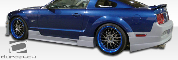 2005-2014 Ford Mustang Duraflex GT Concept Side Skirts Rocker Panels - 2 Piece