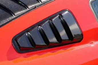 05-09 Mustang ABS Astra Plastic Window Louvers 5 Slats