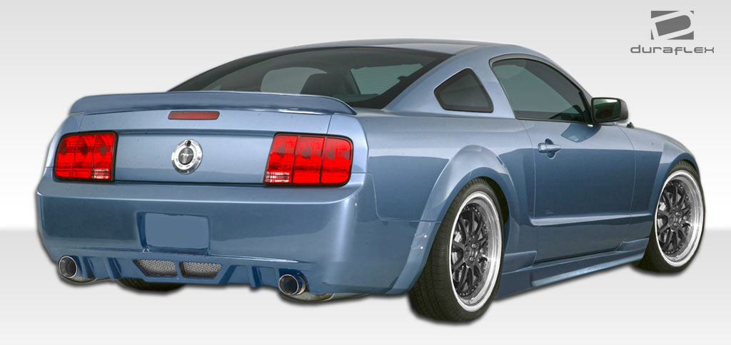 2005-2009 Ford Mustang Hot Wheels Body Kit - 4 Piece GT/V6 (Duraflex) - NOT WIDE BODY