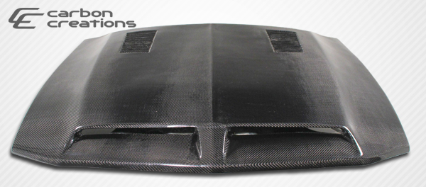 2005-2009 Ford Mustang Carbon Creations GT500 Hood - CARBON FIBER