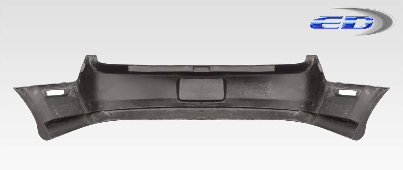 2005-2009 Ford Mustang Polyurethane Eleanor Rear Bumper Cover (Deletes Exhaust Ports) - 1 Piece