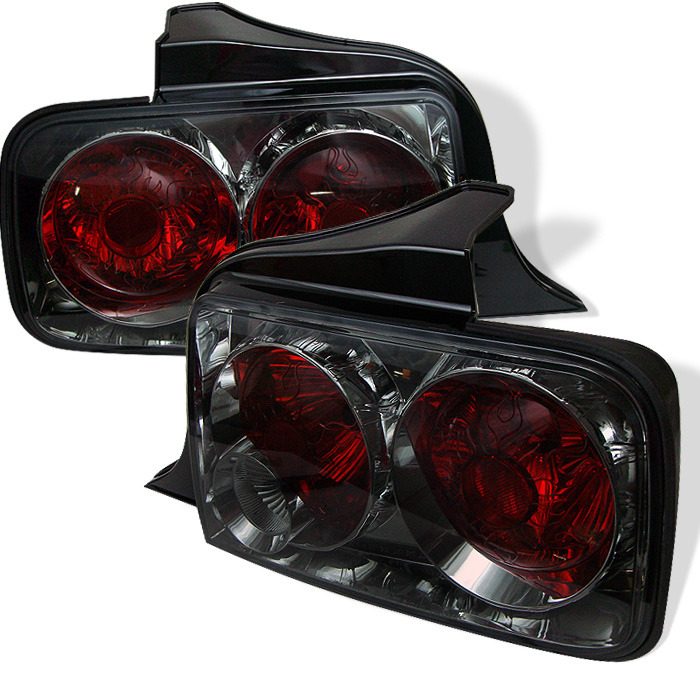 05-09 Mustang Taillights Gen 1 - Euro SMOKED (Pair)