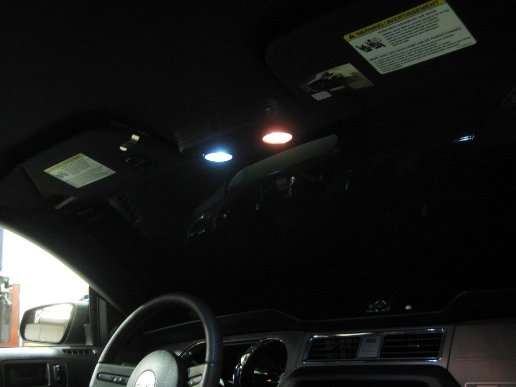 2005-2013 Mustang Dom Light LED Upgrage Kit