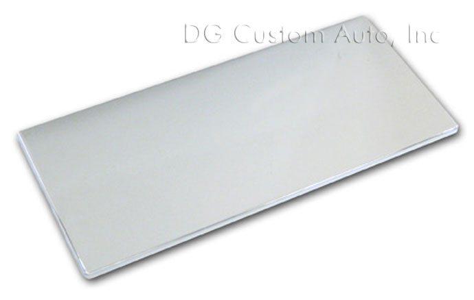 2005-2009 Mustang Billet Fuse Box Cover - Chrome