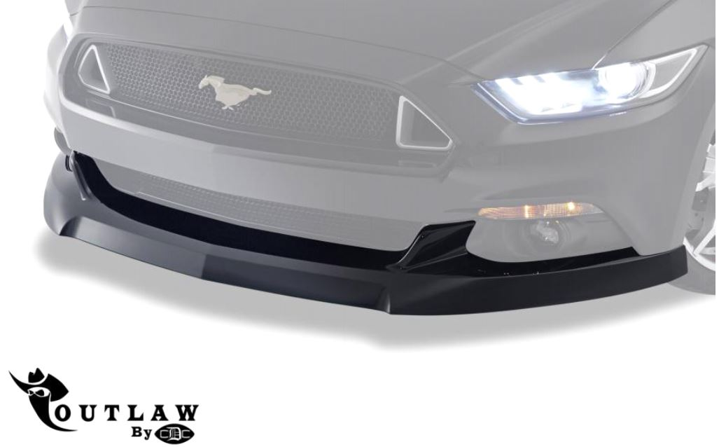 2015-17 Mustang Front Chin Spoiler OUTLAW - GT V6 ECOBOOST