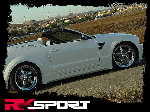 2005-2009 Mustang RK California Dream Replacement Fenders (Pair)